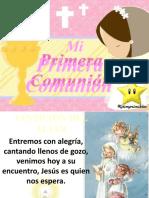 Cantos comunión 2019