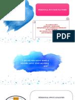 PERSONAL SUCCESS FACTORS (3)