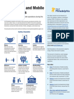 Philly COVID-19 Restaurant Safety Checklist & Outdoor Dining Guidelines
