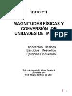 Magnitudes-fisicas-y-conversion-de-unidades-de-medida resumen resueltos y propuestos