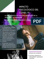 IMPACTO PSICOLÓGICO DEL COVID-19