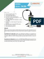 Luxómetro multifuncional_TM-208