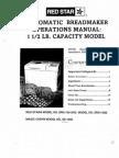 Panasonic Breadmaker Recipe Bread Book Sd Manual