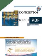 CONCEPTOS DE PRESUPUESTO