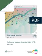Inflación de MAYO 2020 - INDEC
