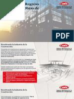 Protocolo de Regreso Seguro a las Obras de Construcción