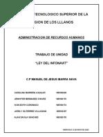Trabajo de unidad Ley del Infonavit (1)