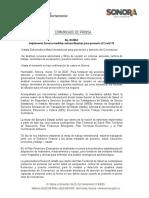 13-03-20 Implementa Sonora medidas extraordinarias para prevenir el Covid-19