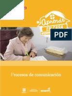 Sugerencias para los proceso de comunicacion
