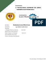 Proyecto final subestaciones electricas