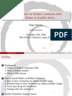 Debian Installer for Buffalo Linkstation NAS
