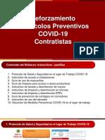 Refuerzo Protocolos Preventivos COVID-19 Perú  Contratistas
