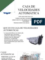 CAJA DE CAMBIO AUTOMATICAS