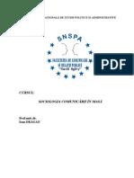 Ioan Dragan - Sociologia Comunicarii in Masa