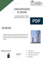 TRANSFORMADORES DE TENSIÓN