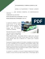 CASO empresa transporte lucerito con analisis del fracaso