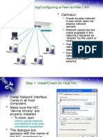 Assembling and Configuring a Peer-To-peer Lan - (Scppn Part 8)
