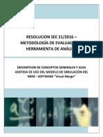 Descripcion Utilizacion Modelo Simulacion Res SEE 21