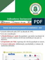 INDICADORES SOCIOECONOMICOS