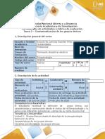 Guía de actividades y rúbrica de evaluación. Tarea 2. Contextualización de los grupos étnicos