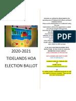 hoa ballot