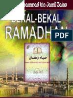 Bekal Ramadhan