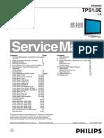 Philips LCD 15PFL4122_19PFL4322_20PFL4122 chassis TPS1.0E LA.pdf