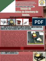 TEMA 6 - Límites de Atterberg y propiedades Hidráulicas de los suelos.
