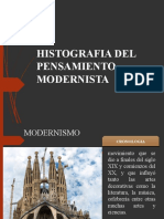 PENSAMIENTO DEL MODERNISMO