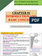 Thermodynamics Chapter 01