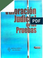Jorge Fábrega La Sana Crítica en La Apreciación de Las Pruebas