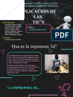 2DA EXP0 DE TICS-IMPRESORAS 3D
