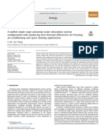 [2019] A unified single stage ammonia-water absortion system configuration with producing best thermal efficiencies for freezing, air-conditioning and space heating applications.pdf