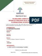 tema 2 TP Pluralismo Jurídico e Interculturalidad en el Estado Plurinacional de Bolivia.pdf