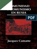 Comunidad-y-comunismo-en-rusia-Camatte versiónMX
