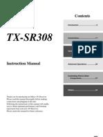 Onkyo TXSR308 Manual