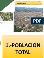 ANALISI DEMOGRAFICO DE LA CIUDAD DE CAJAMARCA