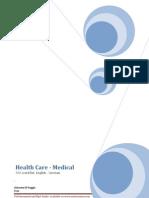Health Care 500 Word List. English - German