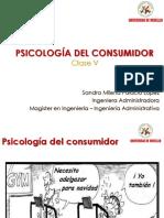 Psicología del Consumidor _ Clase VI 2018-I