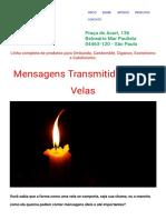 O Alquimista - Mensagens Transmitidas Pelas Velas.pdf