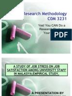 Research Methodology 101