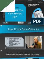 Joan Costa - La imagen corporativa en el siglo XXI
