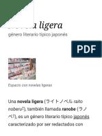Novela ligera - Wikipedia, la enciclopedia libre.pdf