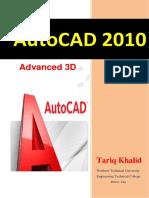 AutoCAD 2010 Tariq Alkhalidi 1ملزمة.pdf
