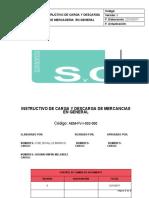 AEM-FV-I-002-000 INSTRUCTIVO PARA LA CARGA  DESCARGA DE MERCADERIA