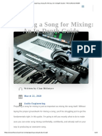Preparing a Song for Mixing_ An In-Depth Guide - THE CURIOUS MIXER