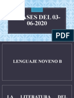 CLASES 03-06-2020