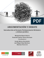 Margarita Bonet Esteva - Argumentación y debate-Dykinson (2019)