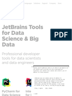 JetBrains Tools for Data Science & Big Data