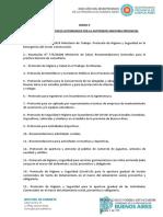 Protocolos de actividades habilitadas en Fase 5